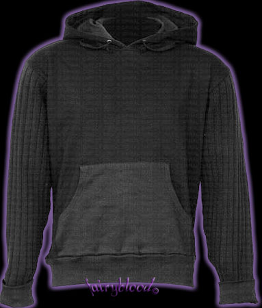 Hoody - Unprinted with corded sleeves